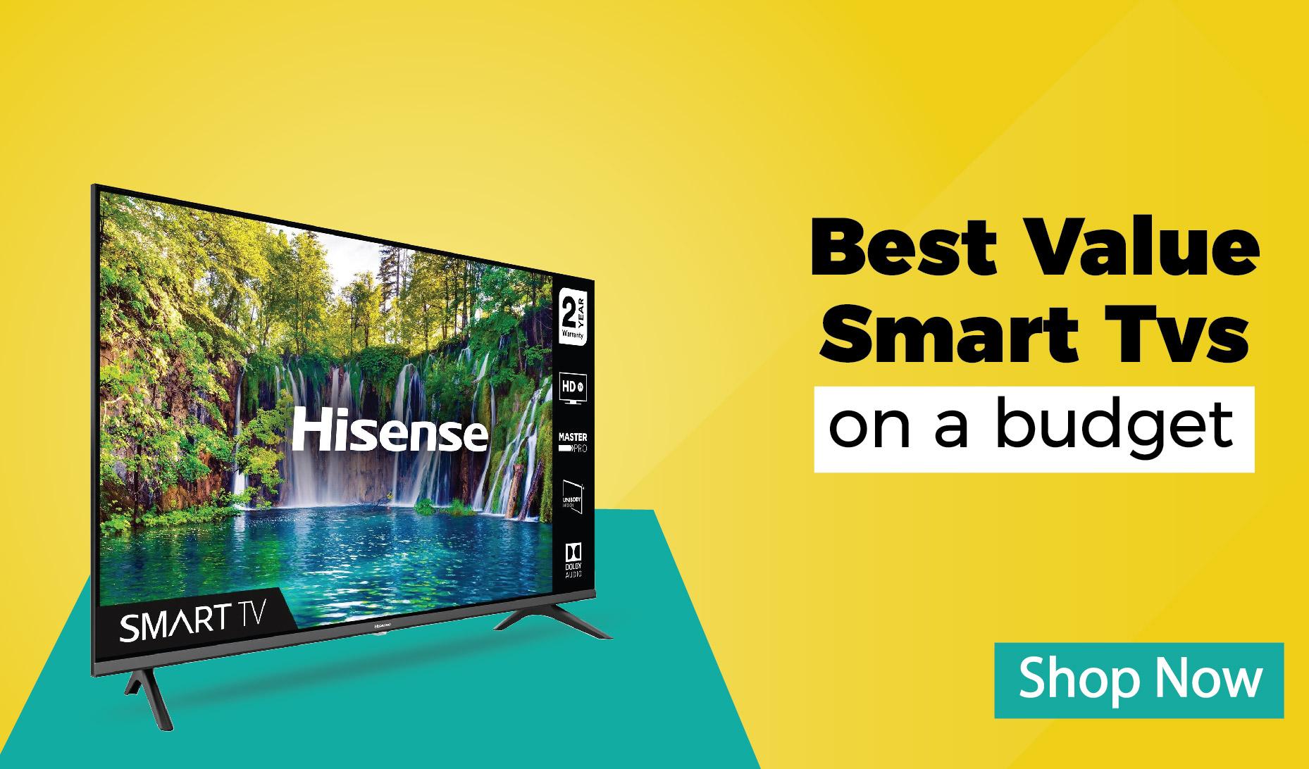 Hisense budget tvs
