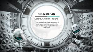 hisense 8kg drum clean mode